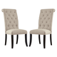 Tripton Dining Upholstered Side Chair (Set of 2) in Linen D530-01