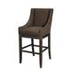 Moriann Tall Upholstered Barstool (Set of 2) in Dark Brown D608-430