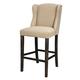 Moriann Tall Upholstered Barstool (Set of 2) in Light Beige D608-530