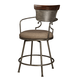 Moriann Upholstered Barstool (Set of 2) in Two-tone D608-624