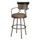 Moriann Tall Upholstered Barstool (Set of 2) in Two-tone D608-630
