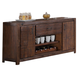 New Classic Furniture Fairway Console in Distressed Walnut T1002-40