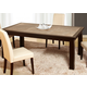 Global Furniture Marble Stone Top Dining Table in Brown Slate D040DT