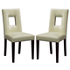 Global Furniture DG072 Dining Chair (Set of 2) in Biege DG072DC-BEI