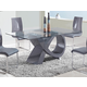 Global Furniture D989 Dining Table in Grey D989DT