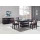 Global Furniture DG072 5-Piece Dining Room Set in Brown