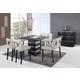 Global Furniture DG072 7-Piece Bar Set in Wenge/Beige
