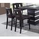 Global Furniture DG072 Bar Stool (Set of 2) in Brown DG072BS-BR