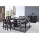 Global Furniture DG072 7-Piece Bar Set in Brown