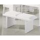 Global Furniture DG020 Bench in White DG020BN-WH