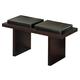 Global Furniture DG020 Bench in Brown DG020BN-BR