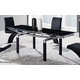 Global Furniture D88 Dining Table in Black D88DT-BL