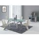 Global Furniture D88 5-Piece Dining Room Set in Beige