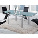 Global Furniture D88 Dining Table in Silver D88DT-SILVER