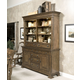 Kincaid Portolone Credenza w/ Hutch in Rich Truffle