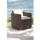 Skyline Design Pacific Dining Arm Chair Cushion in Canvas 2370C-5453