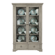 Bernhardt Marquesa Display Curio in Gray Cashmere Finish 359-356