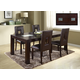 Global Furniture Marble Stone Top D043DT-DG072DC 7-Piece Dining Room Set