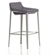 Diamond Sofa Furniture A105 Bar Stool in Grey (Set of 2)