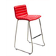 Diamond Sofa Furniture A31 Bar Stool in Red (Set of 2)