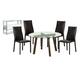 Diamond Sofa Furniture 6-Piece Round Dining Room Set  14030-DT02 / 495