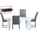 Diamond Sofa Furniture 5-Piece 0776 Rectangular Dining Set