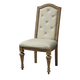 Pulaski Stratton Upholstered Side Chair in Aged Honey (Set of 2) 737270