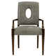 Bernhardt Miramont Arm Chair in Dark Sable Finish (Set of 2) 360-566