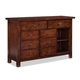 Intercon Furniture Bench Creek Buffet with Sliding Door in Rustic Pine