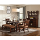 Intercon Furniture Bench Creek 6-Piece Trestle Dining Set in Rustic Pine