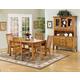 Intercon Furniture Cambridge 5-Piece Solid Oak Dining Room Set in Rustic