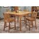 Intercon Furniture Cambridge 5-Piece Gathering Table Set in Rustic