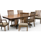 Intercon Furniture Highland Park Trestle Dining Table in Rustic