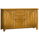 Intercon Furniture Highland Park China Buffet in Rustic