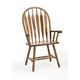 Intercon Furniture Classic Oak Detailed Arrow Back Arm Chair (Set of 2) in Chestnut