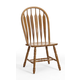 Intercon Furniture Classic Oak Detailed Arrow Back Side Chair (Set of 2) in Chestnut CLEARANCE