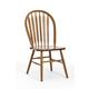 Intercon Furniture Classic Oak Plain Arrow Back Side Chair (Set of 2) in Chestnut