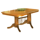 Intercon Furniture Classic Oak Trestle Dining Table in Chestnut CLEARANCE