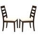 Intercon Furniture Lifestyle Side Chair (Set of 2) in Rich Madeira LI-CH-389C-MDA-RTA