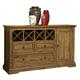 Intercon Furniture Rhone Sideboard in Brushed Almond