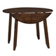 Intercon Furniture Kona Drop Leaf Table with Butterfly Leaf in Raisin