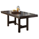 Intercon Furniture Kona Gathering Trestle Table in Raisin