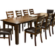 Intercon Furniture Kona Leg Dining Table in Raisin