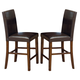 Intercon Furniture Kona Parson's Bar Stool in Raisin (Set of 2)
