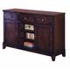 Intercon Furniture Kona Server in Raisin