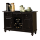 Intercon Furniture Roanoke Buffet in Black