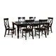 Intercon Furniture Roanoke 7-Piece Leg Dining Set in Black