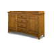 Intercon Furniture Pasadena Revival Buffet in Mission Brown PR-CA-6236-MBN-BSE