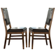 Intercon Furniture Santa Clara Upholstered Side Chair (Set of 2) in Brandy ST-CH-280C-BDY-RTA