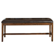 Intercon Furniture Santa Clara Backless Dining Bench in Brandy ST-CH-5016B-BDY-RTA